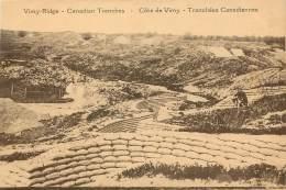 Côte De VIMY - Tranchées Canadiennes - Guerre 1914-18