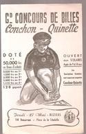 Buvard Jouet Conchon-Quinette Grand Concours De Billes Le Jeudi 27 Mai à Béziers à 14h00 Place De La Citadelle - Bambini