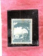 PALESTINE PALESTINA 1927 1942 RACHEL'S TOMB 2m MNH - Palestina