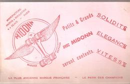 Buvard Jouet MIDONN Manufacture Patins à Roulettes à Glace Paris - Kids