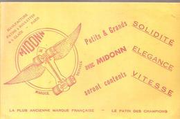Buvard Jouet MIDONN Manufacture Patins à Roulettes à Glace Paris Le Patin Des Champions - Bambini