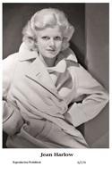 JEAN HARLOW - Film Star Pin Up PHOTO POSTCARD - 6-174 Swiftsure Postcard - Postales