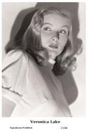 VERONICA LAKE - Film Star Pin Up PHOTO POSTCARD - 27-40 Swiftsure Postcard - Postales