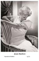 JEAN HARLOW - Film Star Pin Up PHOTO POSTCARD - 6-173 Swiftsure Postcard - Postales