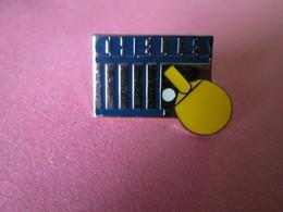 PIN'S    CHELLES  TENNIS DE TABLE - Table Tennis