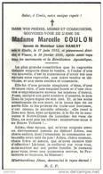 VANCE ..--  Mme Marcelle COULON , épouse De Mr Léon HANERT . Née à ETALLE En1913 . Décédée En 1956 . - Etalle
