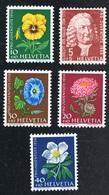 1. Dez. 1958 Pro Juventute Michel  663 - 667  Postfrisch Xx - Ungebraucht
