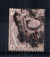 Grande-Bretagne YT N° 74 Rare Oblitération C (Constantinople). A Saisir! - 1840-1901 (Viktoria)