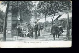 PARIS SAINT MARTIN LA MARCHANDE DE JOURNAUX - Distrito: 10
