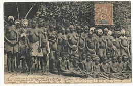 New Hebrides Ile Malicolo  Nude Natives With Paintings On The Head P; Used Port Vila  New Caledonia Stamp - Vanuatu