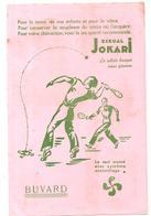 Buvard ESKUAL JOKARI La Pratique Du Jokari Assure Une Longue Et Joyeuse Vie - Sports