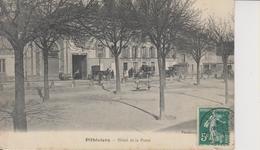 D45 - PITHIVIERS - HOTEL DE LA POSTE - Diligence - Carriole - Charrette - Pithiviers