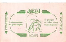 Buvard ESKUAL JOKARI La Pratique Du Jokari Assure Une Longue Et Joyeuse Vie Le Plus économique Des Sports Complets - Sports
