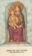 SANTINO HOLY CARD MARIA SS DEI LATTANI 1960 (SN43 - Devotion Images