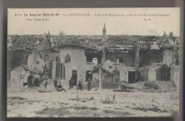PRUNAY (51 - Marne) - 1916 - Cité Des Marquises  - Animée - France
