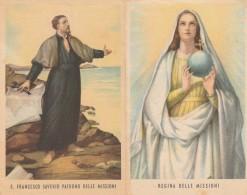 SANTINO HOLY CARD S.FRANCESCO SAVERIO (SN152 - Images Religieuses