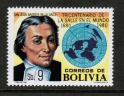 BOLIVIA  Scott # 653** VF MINT NH (Stamp Scan # 416) - Bolivie