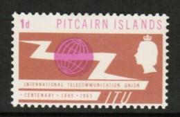 PITCAIRN ISLANDS  Scott # 52* VF MINT LH (Stamp Scan # 416) - Timbres
