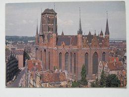 Gdansk 1983 Year  / Mariacki Church / Poland - Pologne