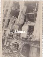 NANTES  - Photographie Originale - Bombardements 23/10/1943 - Place Viarme - War, Military