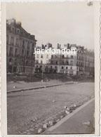 NANTES  - Photographie Originale - Bombardements 23/10/1943 - Quai De La Fosse - War, Military