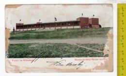 1905 Germany Deutsch Süd West Afrika DSWA Feste In Windhuk Fort Town View FP V SEE 2 SCANS FAULTS - Ehemalige Dt. Kolonien