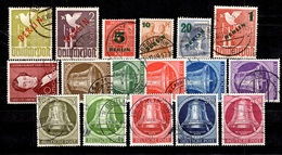 Berlin Belle Petite Collection De Bonnes Valeurs Oblitérées 1948/1953. Forte Cote. B/TB - Berlin (West)
