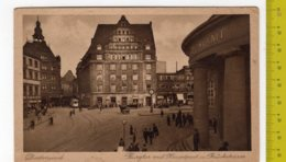 1933 DORTMUND Burgtor Mit Hauptpost U Bruckestrasse FP V SEE 2 SCANS - Dortmund