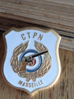 PIN'S C.T.P.N. MARSEILLE - Pin's