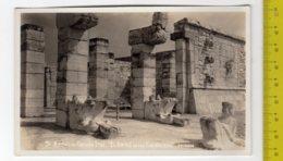 MEXICO CHICHEN ITZA RUINAS El Templo De Los Guerreros FP NV SEE 2 SCANS - Messico