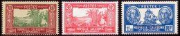 Nouvelle-Caledonie 1928 Yvert 152A - 153 - 156 ** TB - Neufs