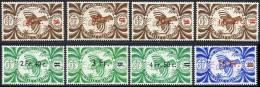 Nouvelle-Caledonie 1945 Yvert 249 / 256 ** TB Bord De Feuille - Nouvelle-Calédonie
