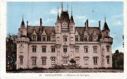 Cpa De Lencloitre - Château De Savigny - - Lencloitre
