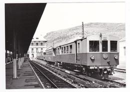 CPM VOIR DOS 66 La Tour De Carol Vers Bourg Madame Le Train Jaune SNCF En 05/1981 - Non Classificati