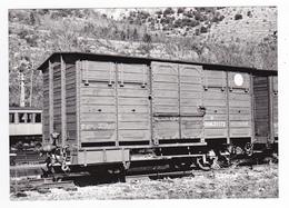 CPM VOIR DOS 66 Villefranche De Conflent Vernet Train Wagon De Secours Du Train Jaune SNCF Le 21/04/1965 - Non Classificati
