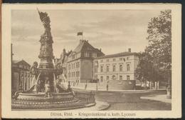 °°° 11906 - DUREN - KRIEGERDENKMAL LYCEUM - 1968 With Stamps England °°° - Dueren