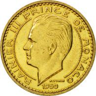Monnaie, Monaco, Rainier III, 50 Francs, 1950, Paris, ESSAI, SUP+ - Monaco