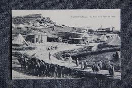 MILITARIA - MAROC, TAOURIR , 1911 , La Poste Et La Route Du Camp. - Guerres - Autres