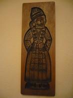 Grosses Holzmodel - Backform - älter (620) - Wood
