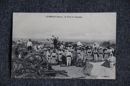MILITARIA - MAROC, EL MERADA , 1911 , Le Train Des Équipages. - Guerres - Autres