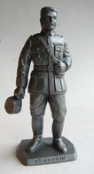 FIGURINE PUBLICITAIRE MOKAREX - LA GRANDE GUERRE - GENERAL MANGIN (2) - Figurines