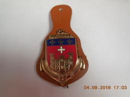 INSIGNE 38° Compagnie De Camp De Caylus...DRAGO PARIS....E.C - Marinera