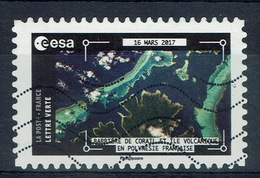 France, Earth View From The Space By Thomas Pesquet, French Polynesia, 2018, VFU Self-adhesive - Frankrijk