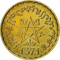 Monnaie, Maroc, 10 Francs, 1371/1952, Paris, ESSAI, SPL+, Aluminum-Bronze - Morocco