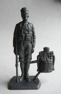 FIGURINE PUBLICITAIRE MOKAREX - LA GRANDE GUERRE - TIRAILLEUR SENEGALAIS (1) - Figurines