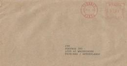 "Kenya 2000 Eldoret Meter Neopost ""Electronic"" NE659 EMA Cover - Kenia (1963-...)"