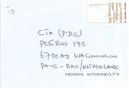 "Netherlands 2006 Meter Hytech ""TPGPOST"" Straight Edges EMA Cover - Marcofilie - EMA (Print Machine)"