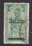 Ivory Coast, Scott #103, Used, Stamps Of Upper Volta Overprinted, Issued 1933 - Côte-d'Ivoire (1892-1944)