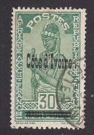 Ivory Coast, Scott #103, Used, Stamps Of Upper Volta Overprinted, Issued 1933 - Ivory Coast (1892-1944)
