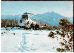 1972 Kamchatka Aviation Helicopter In The Mountains. - Elicotteri